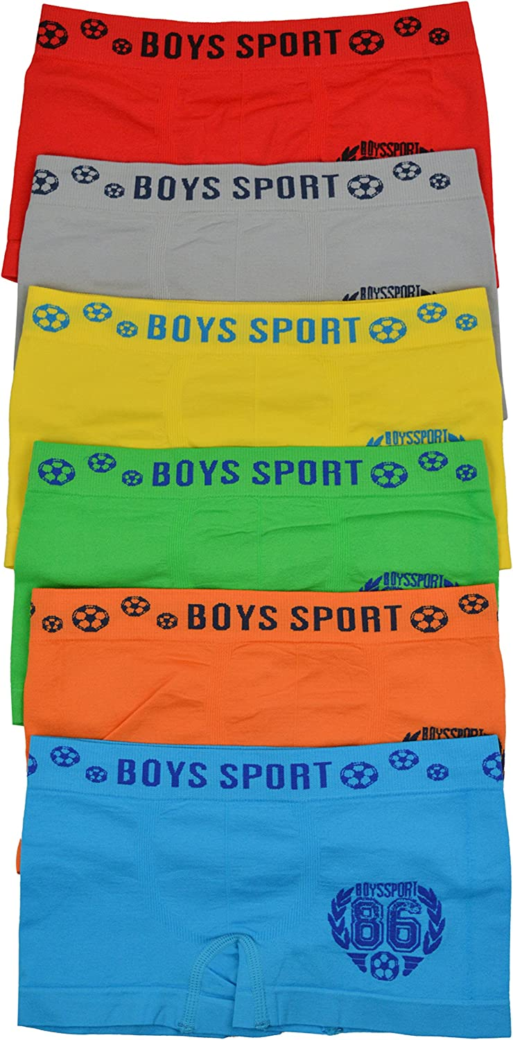 ToBeInStyle Boy's Pack of Mail order cheap Boxer Graphics Charlotte Mall Briefs 6