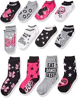 Nickelodeon Big Girl's Jojo Siwa 12 Days of Socks Advent Box Sockshosiery