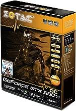 ZOTAC GeForce GTX 560 Ti OC 1GB GDDR5 PCI Express 2.0 Dual DVI/mini HDMI SLI Ready Graphics Card, ZT-50303-10M