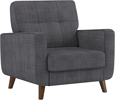 Superb Amazon Com Rivet Cove Modern Tufted Accent Chair With Short Links Chair Design For Home Short Linksinfo