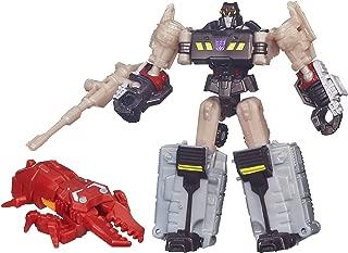 Transformers Generations Legends Class Megatron and Chop Shop Figures