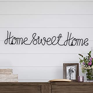 Lavish Home Metal Sweet Cursive Cutout Sign-3D Word Art Home Accent Decor-Perfect for..