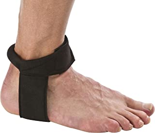 Cho-Pat Achilles Tendon Strap - Developed w/ Sports Medical Professionals at Mayo Clinic to Reduce Stress & Alleviate Achilles Tendonitis Pain - Black (Medium, 10.5