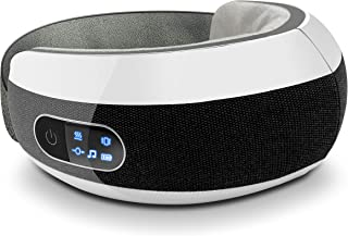 ماساژور چشم با فشرده سازی گرما - استرس هوشمند قابل شارژ ماساژور برقی چشم ماساژور درمان کننده فشار نقطه ، باند الاستیک ، ماساژ لرزش فشار هوا - تسکین چشم - Serenelife SLEYMSG110