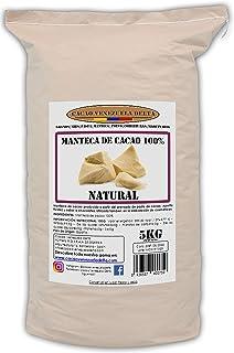 Cacao Venezuela Delta · Burro di cacao 100% · Naturale · 5kg - Qualità extra