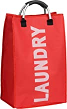 Premier Housewares Laundry Bag with Handle - Red