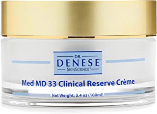 Sponsored Ad - Dr. Denese SkinScience Med MD 33 Clinical Reserve Cream Vibrant Skin with 33 Active Ingredients - Deep Mois...