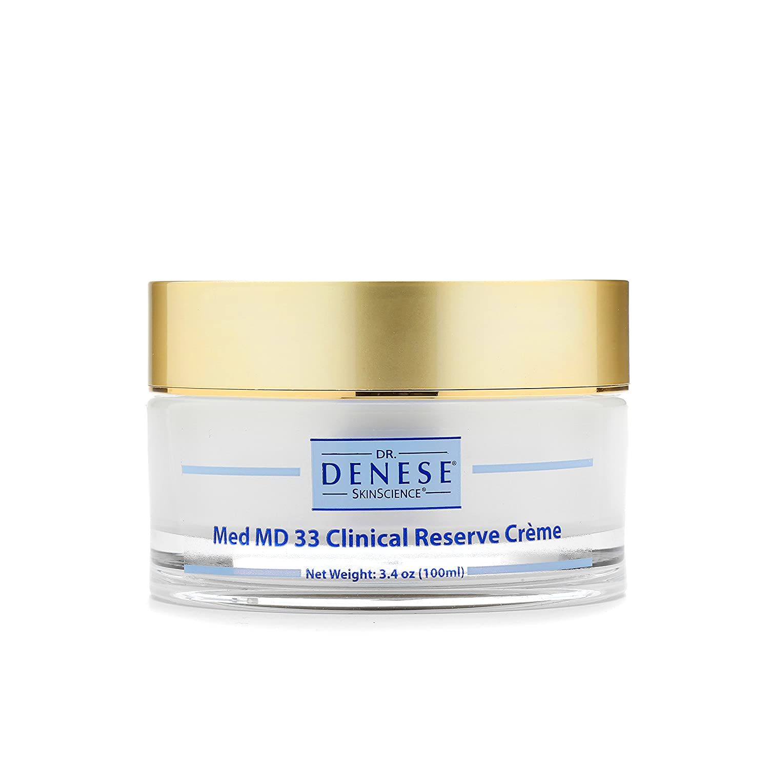 Dr. Denese SkinScience Med MD Cream Clinical 33 Vibrant 1 year warranty Max 64% OFF Reserve