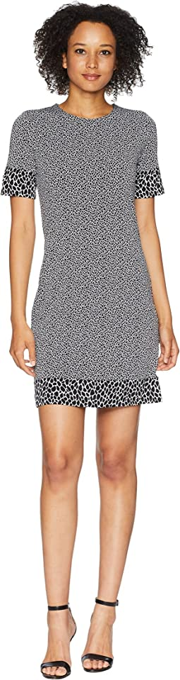 Graphic Leopard Dress