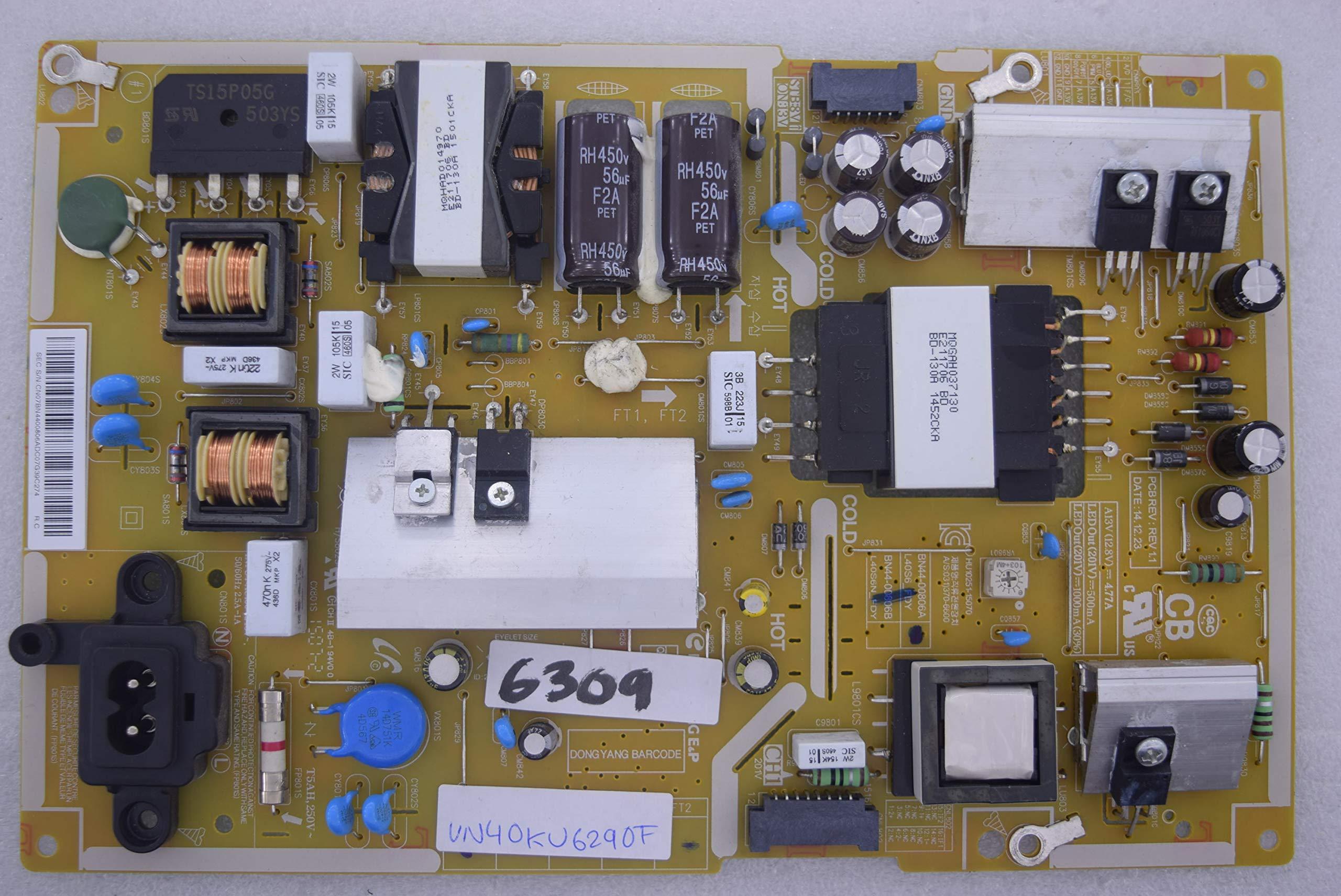Samsung UN40KU6290F BN44-00806A L40S6_FDY L40S6N_FDY 6309 Placa de Fuente de alimentación: Amazon.es: Electrónica