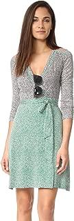 Women's Long Sleeve Wrap Dress