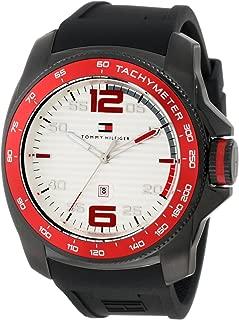 1790854 Sport Black IP Silicon Watch