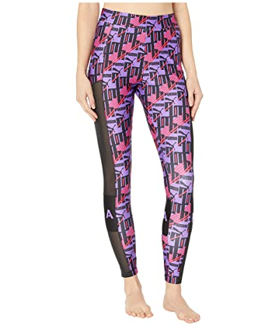 PUMA XTG All Over Print Leggings (Purple Glimmer) Women