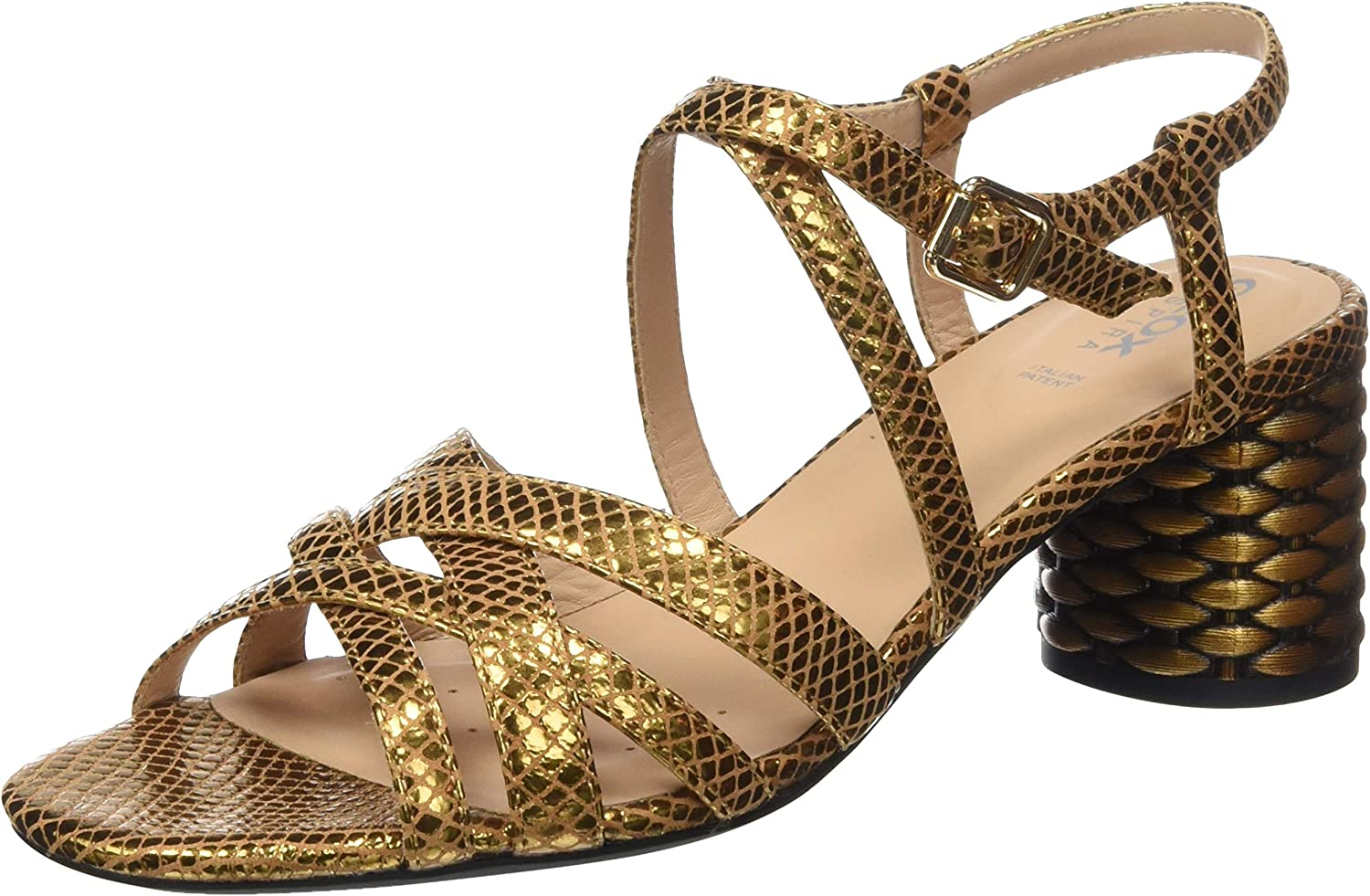 Geox Cheap super special price Women's Wedge Heels Toe Open Sandals Super special price