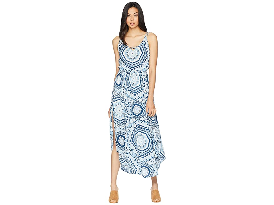 Rip Curl La Playa Maxi Dress (Mid Blue) Women