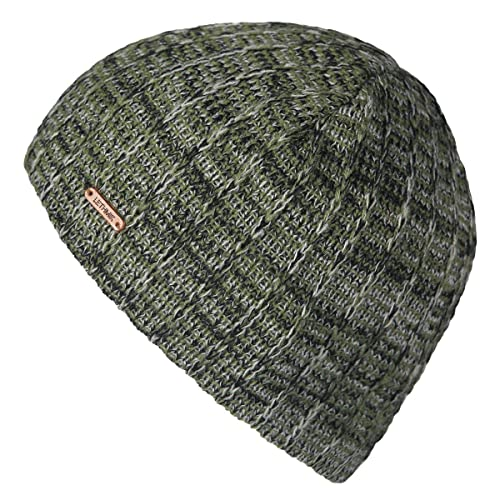 8b05cc4eda8 lethmik Knit Skull Beanie Cap Winter Warm Daily Hat With Mix Mesh Knitted