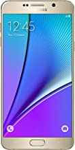 Samsung Galaxy Note 5 Verizon Wireless CDMA No-Contract 4G LTE Smartphone with Stylus Pen - Gold Platinum (Renewed)