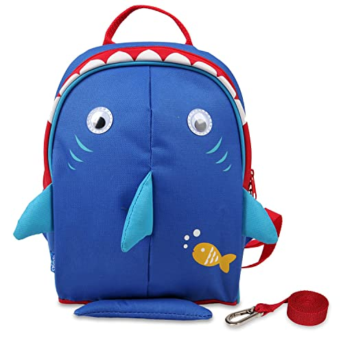 Yodo Kids Insulated Toddler Backpack with Safety Harness Leash and Name Label - Playful Preschool Lunch