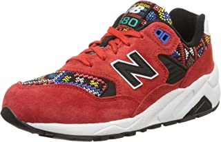 New Balance 580 Elite Edition Mexican Tiles Women's Casual Sneakers, Size 6.5, Color Red/Black