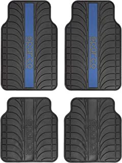 Sparco Anti Slip Carpet, SPC1913AZ, H38.2 x W47.6 x D4.2 cm, Blue