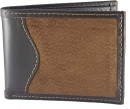 Capybara Carpincho Mens Wallet Exclusive Argentine Leather Brown