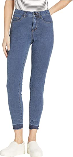 Lightweight Denim Olivia Slim Ankle in Denim