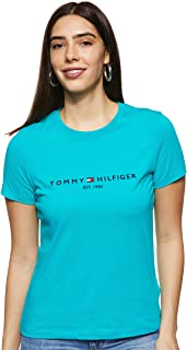 Tommy Hilfiger Women's New Ess C-Neck Short Sleeve T-Shirt
