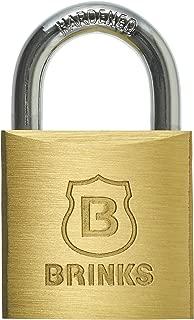 BRINKS 171-30001 30mm Solid Brass Keyed Lock