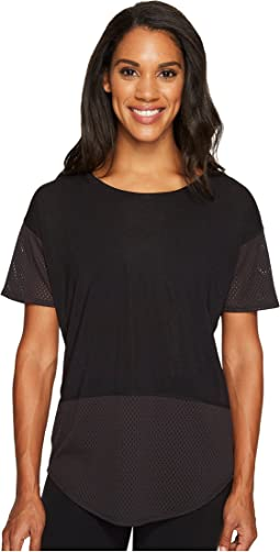 Lucy - Lighten Up Mesh Short Sleeve