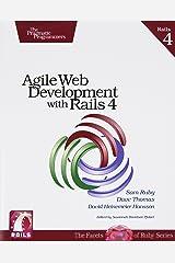 Agile Web Development with Rails 4 (Pragmatic Programmers) Paperback