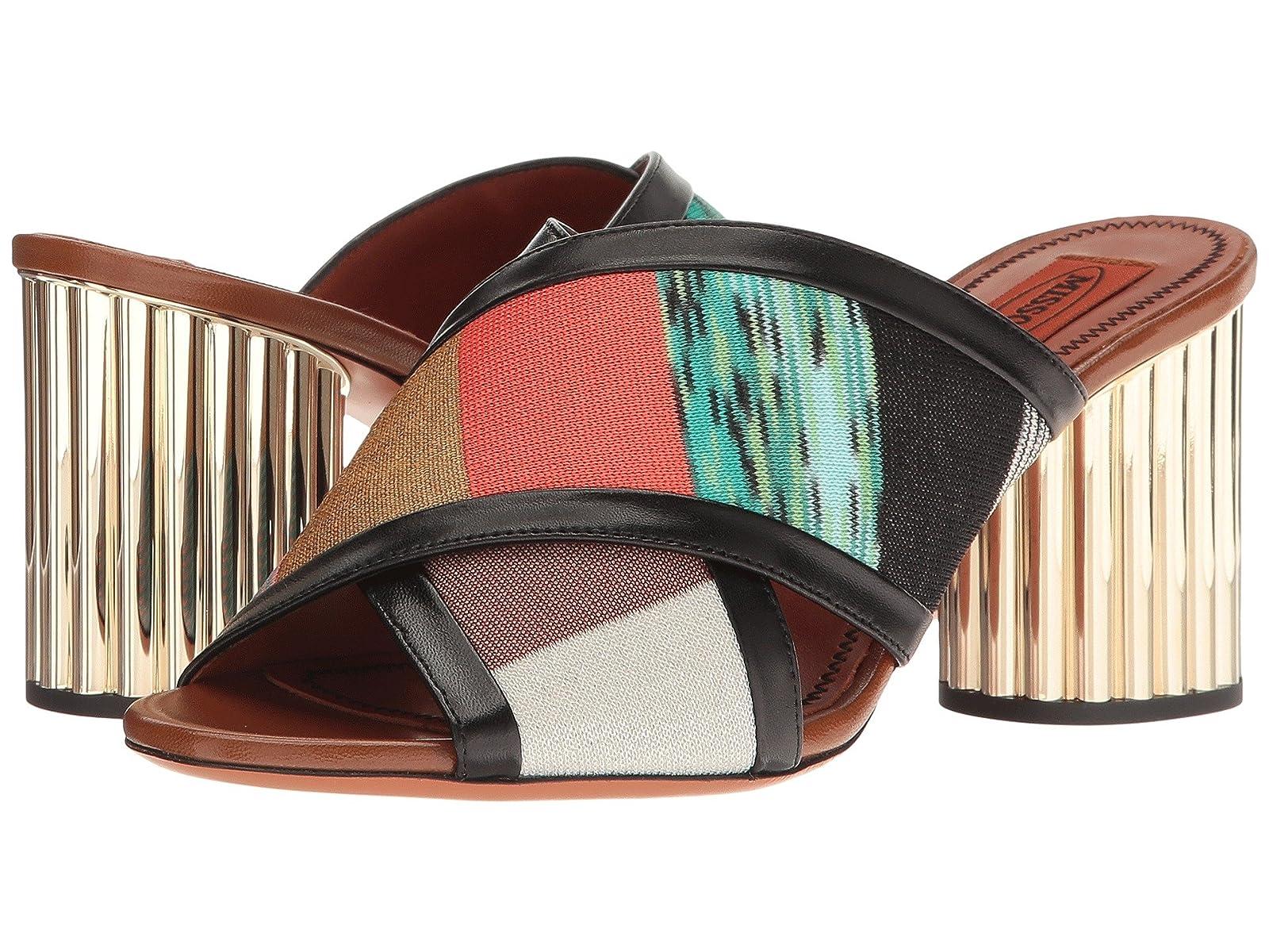 Missoni Patchwork Heeled SlideCheap and distinctive eye-catching shoes