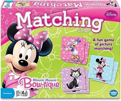 Amazon Com Wonder Forge Juego De Memoria De Disney Frozen 2 Para Niñas Y Niños Minnie Mouse A Juego Multi Color Toys Games