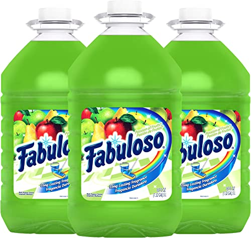 FABULOSO All Purpose Cleaner, Passion of Fruits, Bathroom Cleaner, Toilet Cleaner, Floor Cleaner, Washing Machine and...