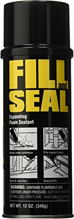 Dow Chemical 157859 Dow Expanding Insulating Sealant, 12 Oz, Aerosol Can, Foam,