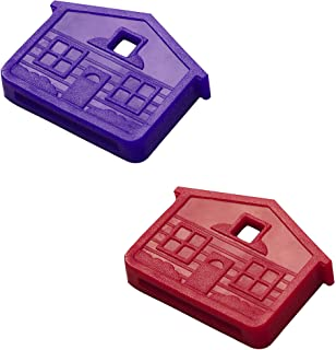 Lucky Line House Key Identifier Cap, Color May Vary, 2-Pack (16202)