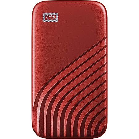 WD My Passport SSD 1TB - tecnología NVMe, USB-C, velocidad de lectura hasta 1050MB/s & de escritura hasta 1000MB/s - Rojo