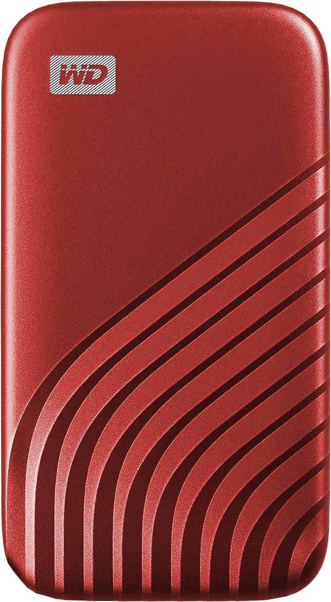 653 opinioni per WD 1TB My Passport SSD portatile con tecnologia NVMe, USB-C, fino a 1.050 MB/s