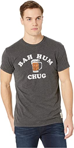 Bah Hum Chug Short Sleeve Vintage Heathered Tee