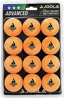 JOOLA Bolas de tênis de mesa 3 Star Training pacote com 12, 60 ou 120 – Bolas de pingue-pongue de 40 mm para competição e ...