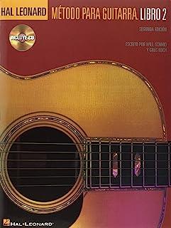 Metodo Para Guitarra Hal Leonard Libro 2 + Audio