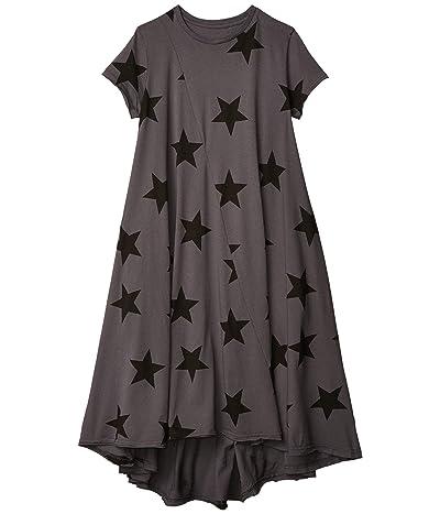 Nununu Star 360 Dress (Little Kids/Big Kids) (Iron) Girl
