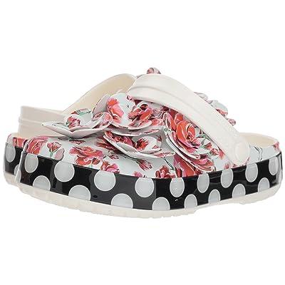 Crocs Crocband Timeless Clash Roses Clog (Floral/Dots) Clog Shoes