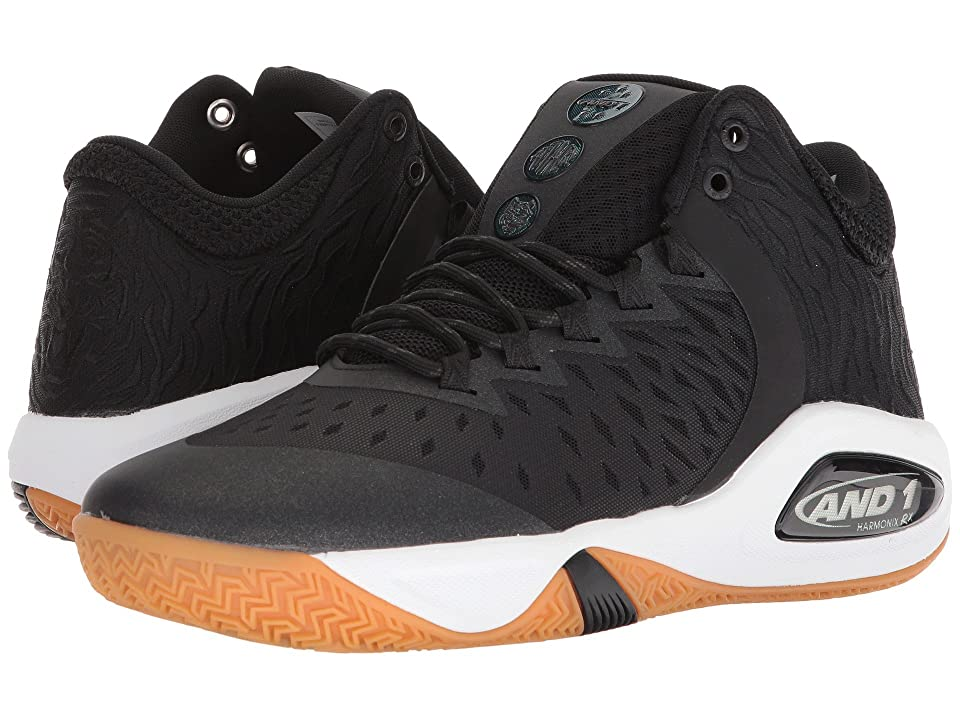 AND1 Attack Mid (Black/Junebug/Gum) Men
