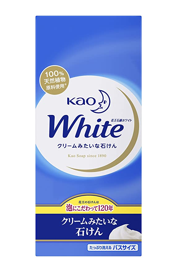 固執好意ヶ月目花王ホワイト バスサイズ 6コ箱