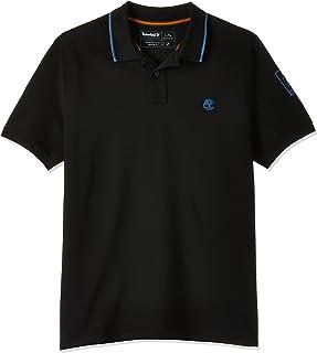 Timberland mens MTR Sleeve Print Graphic Polo Reg Polo Shirt