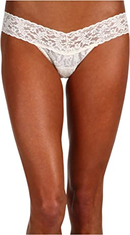 "Hanky Panky ""I DO"" Low Rise Bridal Thong"