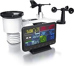 CSL Professioneel WLAN weerstation draadloos met 7-in-1 buitensensor, weergegevens via app, wifi, binnen- en buitentempera...