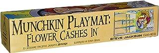 Steve Jackson Games SJG05597 Munchkin Playmat Flower Cashes In Card Game