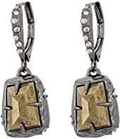 Alexis Bittar - Stone Drop Leverback Earrings
