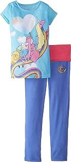 Adventure Time Little Girls' Yoga Pajamas, Multi, 6/6X